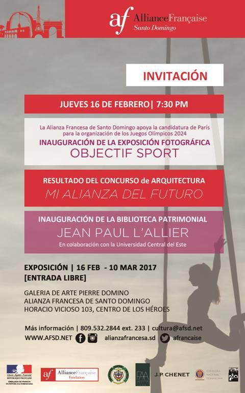 Alianza Francesa SD abrirá 3 exposiciones este jueves